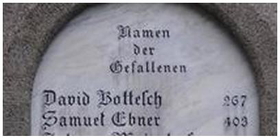 """""""Names of the Fallen""""  #403 """"Samuel Ebner"""""""