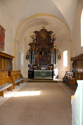 Evangelical Lutheran Church Neppendorf, interior