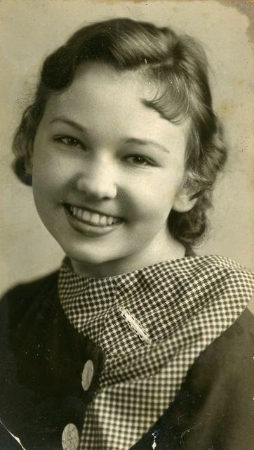 Lillian Koroschetz 1935, age 18