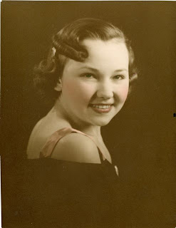 Lillian Koroschetz, 1937, age 20, about 3 years before meeting Fred