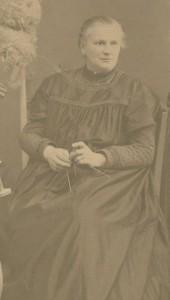 Merchant's wife, Berta Jickeli, born Henriette Albertine Krasser