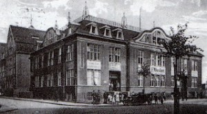 Missler Emigrant Hall, Bremen, 1907. Perhaps this is where Josef sat with his new-found friends.