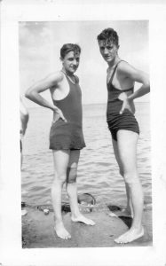 "The ""Mankini"" as cutting edge beach fashion"